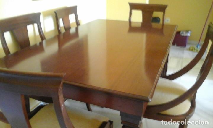 comedor completo en caoba maciza, artesanal. - Kaufen Vintage-Möbel ...