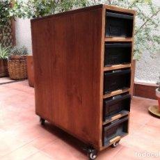 Vintage: CAJONERA ESTILO INDUSTRIAL. Lote 121632639