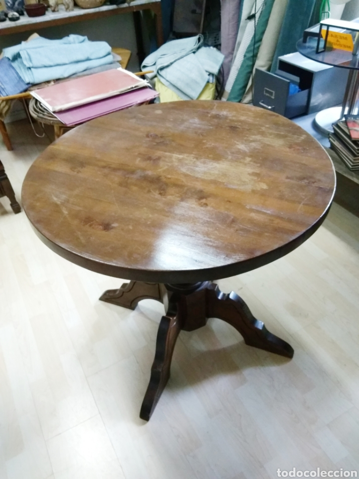 mesa comedor redonda - Kaufen Vintage-Möbel in todocoleccion - 121725276
