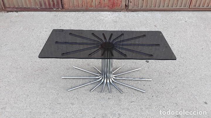 mesa de centro de salón tipo sol o araña de met - Comprar Muebles ...