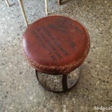 Vintage: TABURETE BASE LLANTAS DE BICICLETA UNICO Y SUPER ORIGINAL NUEVO. Lote 122852427