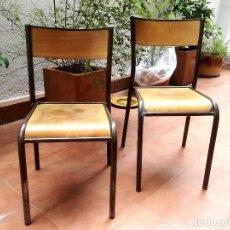 Vintage: DOS SILLAS MULLCA . Lote 123098415