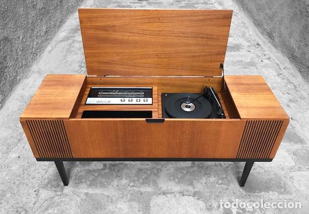 Mueble tocadiscos a os 60 comprar muebles vintage en todocoleccion 123695711 - Muebles anos 60 ...
