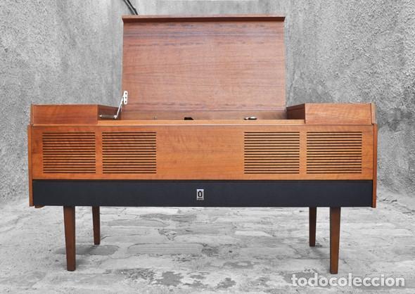 Mueble tocadiscos a os 60 comprar muebles vintage en todocoleccion 125031663 - Muebles anos 60 ...