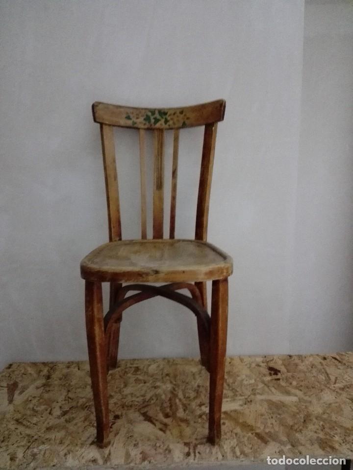 SILLA MADERA CLASICA (Vintage - Muebles)
