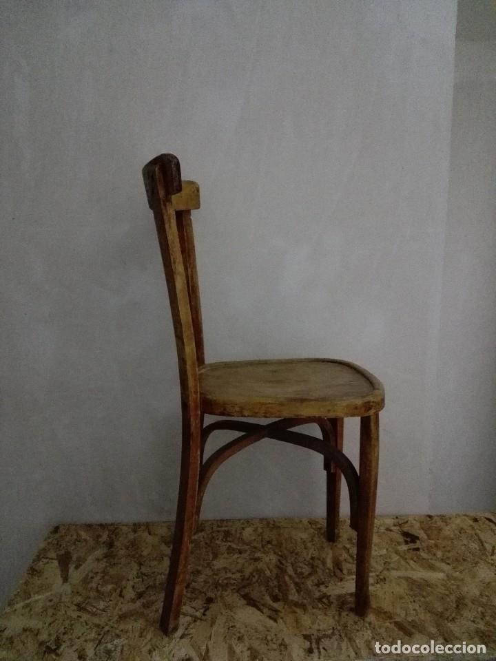 Vintage: Silla madera clasica - Foto 3 - 207409308