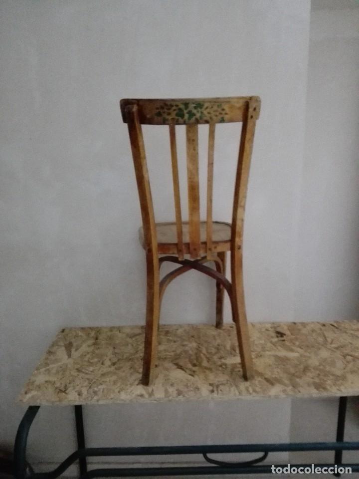 Vintage: Silla madera clasica - Foto 4 - 207409308