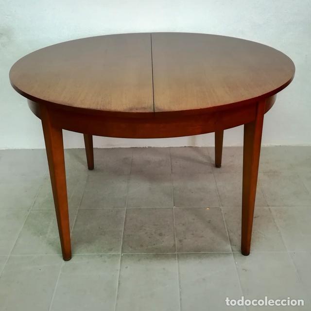 Mesa de comedor extensible en teka años 60 dise - Verkauft ...