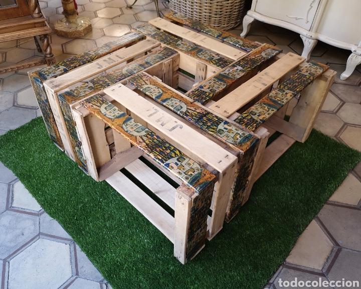 Mesa Baja Cajas De Fruta Kaufen Vintage Möbel In Todocoleccion