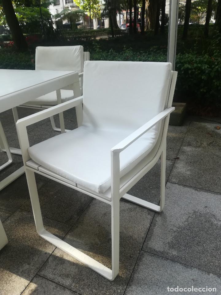 Lote De Sillas Y Mesas Terraza Gandia Blasco Kaufen Vintage Möbel