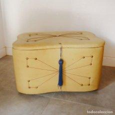 Vintage: VINTAGE. BAÚL FORRADO EN VINILO. ALEMANIA 1950 - 1959. Lote 131458938