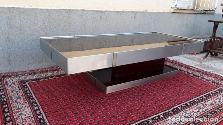 Mesa met lica centro de sal n estilo bauhaus fu vendido en venta directa 132217834 - Mesa auxiliar metalica ...