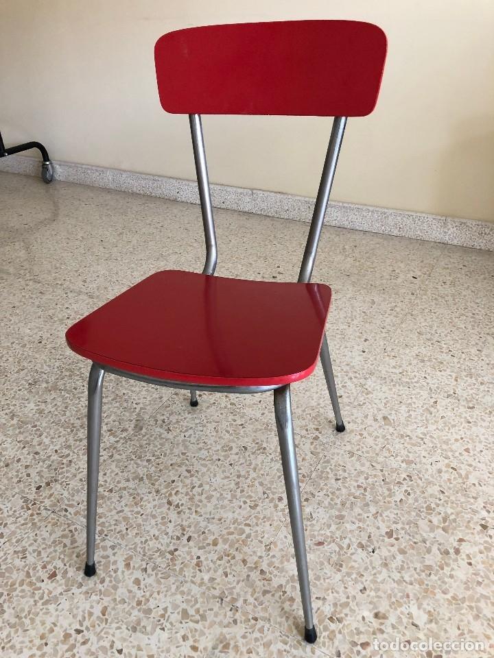 silla de cocina vintage - Comprar Muebles vintage en todocoleccion ...