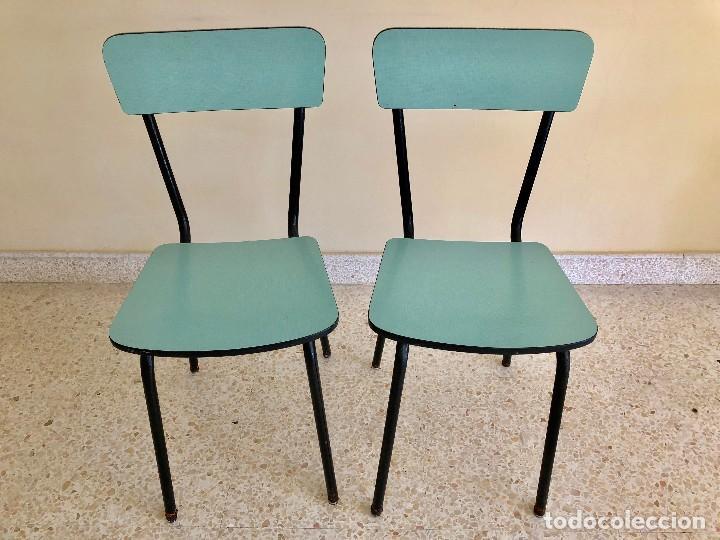 sillas cocina formica.años 60 - Comprar Muebles vintage en ...