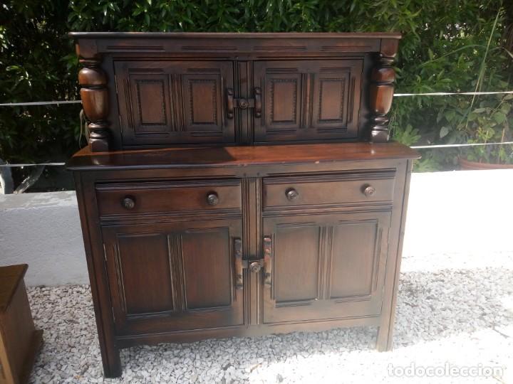 Vintage: antiguo mueble aparador de salón ercol made in england,años 50/60 - Foto 2 - 133342310