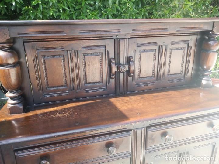 Vintage: antiguo mueble aparador de salón ercol made in england,años 50/60 - Foto 3 - 133342310