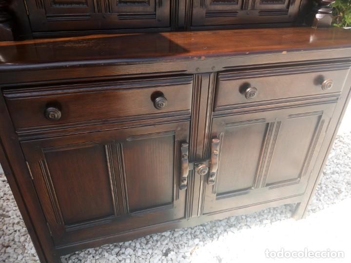Vintage: antiguo mueble aparador de salón ercol made in england,años 50/60 - Foto 4 - 133342310