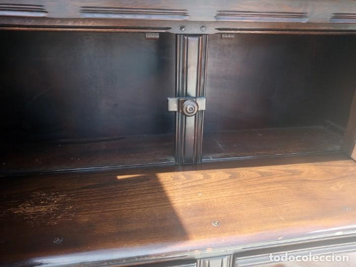 Vintage: antiguo mueble aparador de salón ercol made in england,años 50/60 - Foto 6 - 133342310