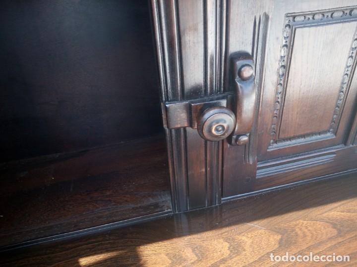 Vintage: antiguo mueble aparador de salón ercol made in england,años 50/60 - Foto 7 - 133342310
