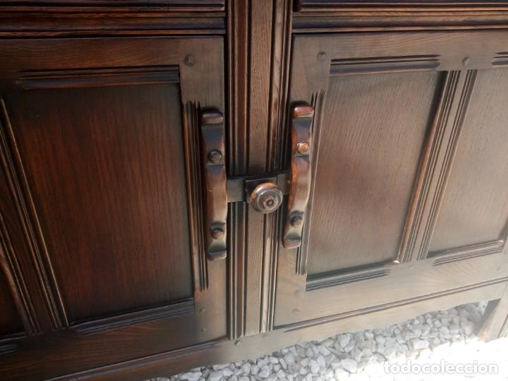 Vintage: antiguo mueble aparador de salón ercol made in england,años 50/60 - Foto 8 - 133342310