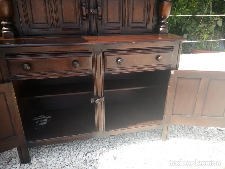 Vintage: antiguo mueble aparador de salón ercol made in england,años 50/60 - Foto 9 - 133342310