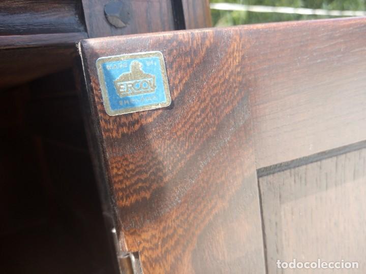 Vintage: antiguo mueble aparador de salón ercol made in england,años 50/60 - Foto 10 - 133342310