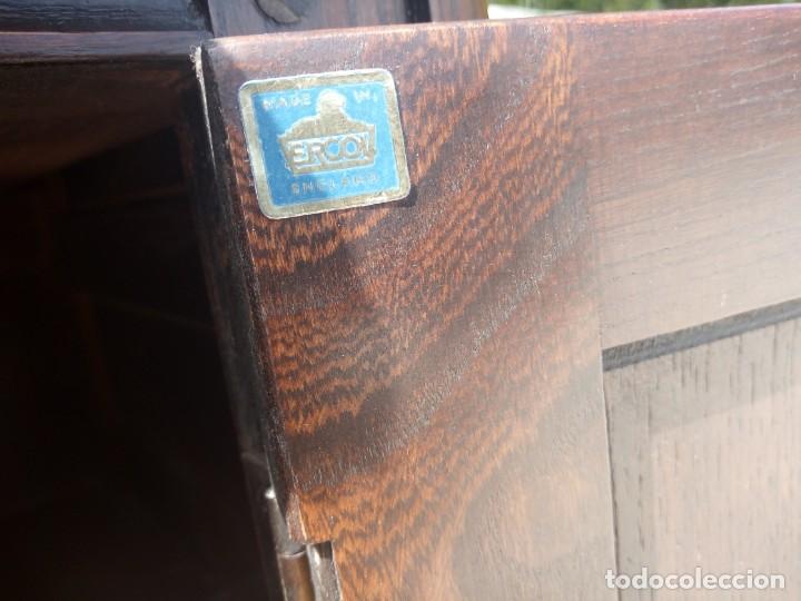 Vintage: antiguo mueble aparador de salón ercol made in england,años 50/60 - Foto 11 - 133342310