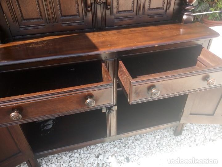 Vintage: antiguo mueble aparador de salón ercol made in england,años 50/60 - Foto 12 - 133342310