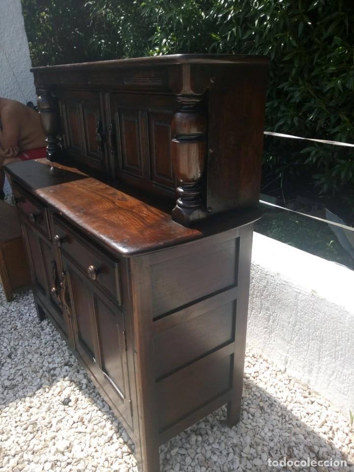 Vintage: antiguo mueble aparador de salón ercol made in england,años 50/60 - Foto 13 - 133342310