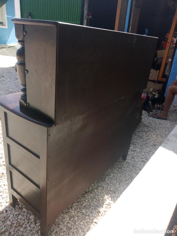Vintage: antiguo mueble aparador de salón ercol made in england,años 50/60 - Foto 14 - 133342310