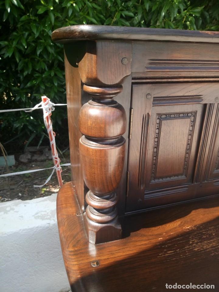 Vintage: antiguo mueble aparador de salón ercol made in england,años 50/60 - Foto 15 - 133342310
