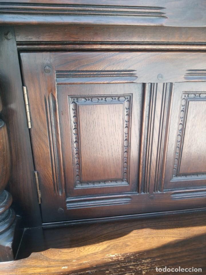 Vintage: antiguo mueble aparador de salón ercol made in england,años 50/60 - Foto 16 - 133342310