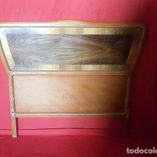 Vintage: PAREJA DE CABECEROS AÑOS 50 CON BONITO DISEÑO. . Lote 133630134