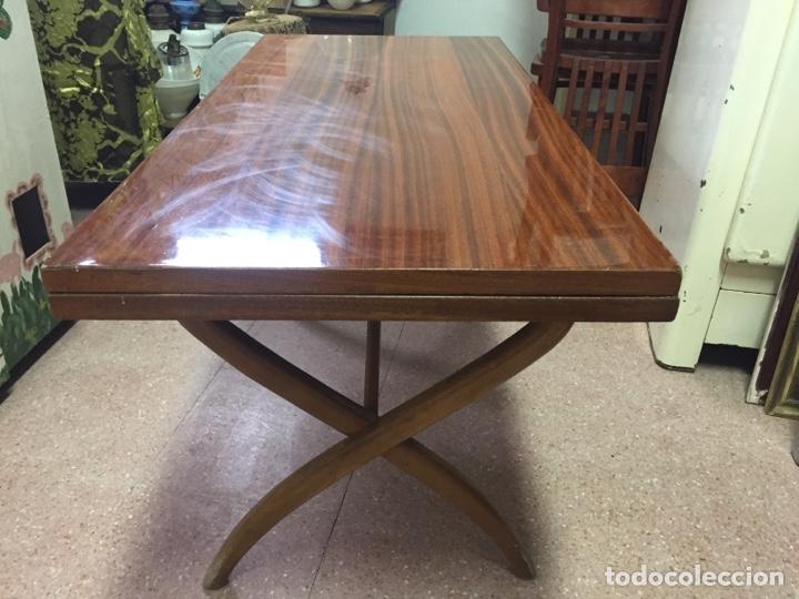 mesa vintage de sofá convertible en mesa de com - Kaufen Vintage ...