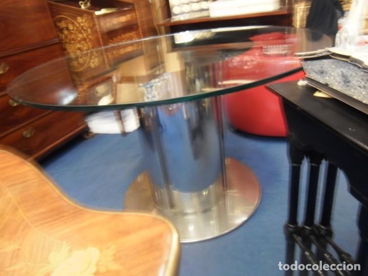 mesa de comedor italiana con base acero inoxida - Comprar Muebles ...