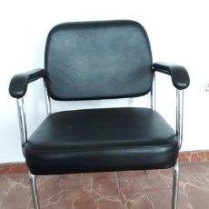 Vintage: SILLA SILLON TAPIZADO AÑOS 60. Lote 135866410