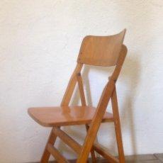Vintage: SILLA PLEGABLE FRANCESA. Lote 135954874