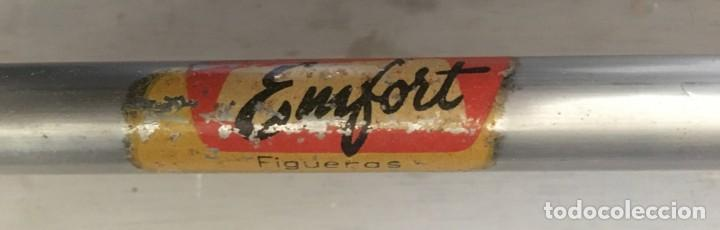 Vintage: ANTIGUA MESA DE COCINA DE FORMICA Y METAL, DE LA MARCA EMFORT DE FIGUERAS - Foto 12 - 170946404