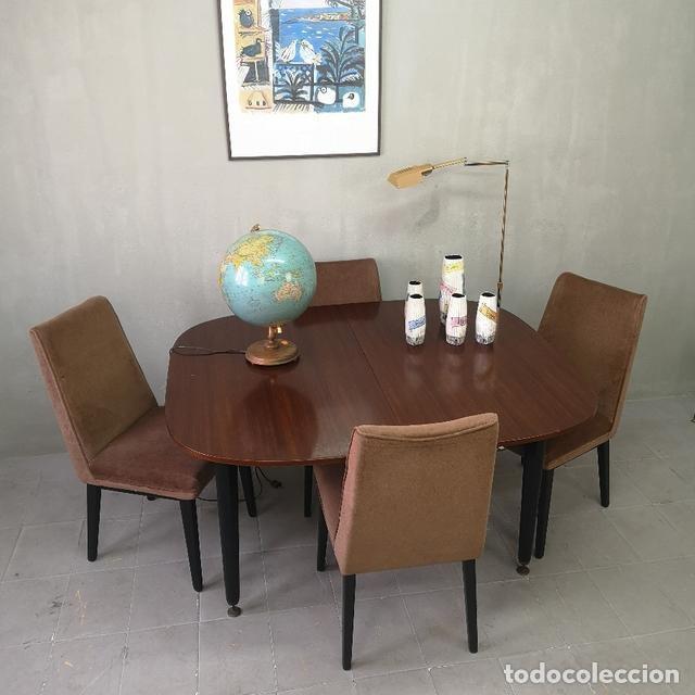 Juego de comedor vintage mesa y sillas francesa - Verkauft in ...