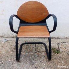 Vintage: 2 SILLAS OFICINA DE GERD LANGE PARA STEELCASE. Lote 138612846