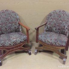 Vintage: SILLONCITOS CALZADORES. Lote 140044894