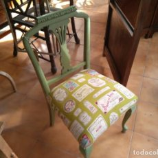 Vintage: SILLA TOCADOR SHABBY CHIC. Lote 140894906