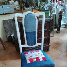 Vintage: SILLA VINTAGE TEJANA. Lote 140938806
