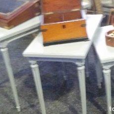 Vintage: TRES MESITAS NIDO. AÑOS CINCUENTA. RECUPERADAS.. Lote 142674066