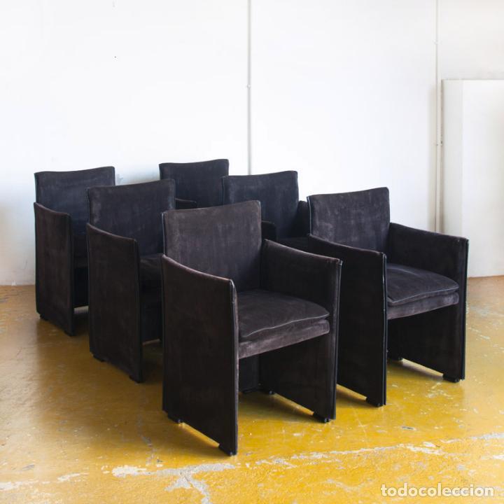 conjunto de 6 sillas de comedor modelo 401 brea - Kaufen Vintage ...