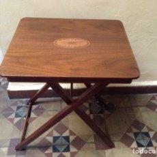 Vintage: MESA AUXILIAR MADERA PLEGABLE. Lote 143869313