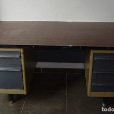 Vintage: MESA DE DESPACHO,ESCRITORIO ESTILO INDUSTRIAL.. Lote 143890330