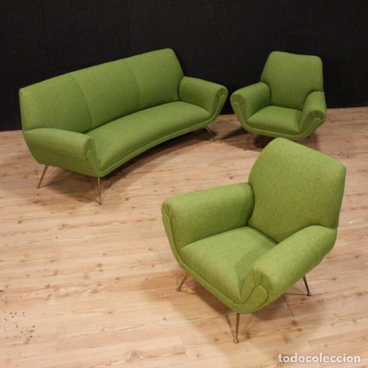 conjunto de sala de estar sof y dos sillones d comprar On sillones diseno italiano