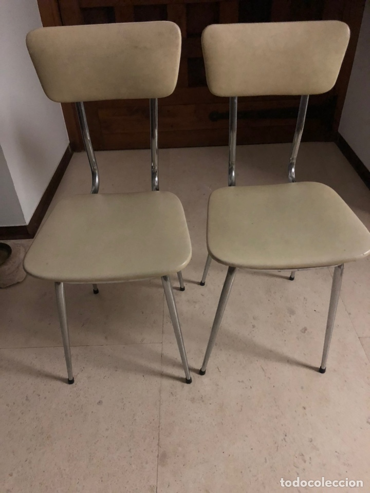 2 sillas cocina, estructura de acero, asiento y - Comprar Muebles ...
