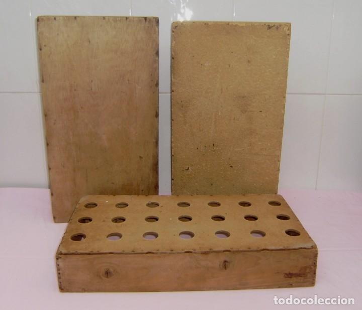 Vintage: 11 antiguas cajas-cajones de madera. - Foto 2 - 146428850